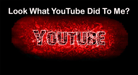 Look what youtube did to me?