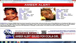 Florida Amber Alert issued for missing child in Ocala