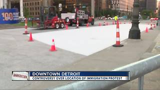 Controversy over Detroit ICE protest scheduled on Saturday - Video