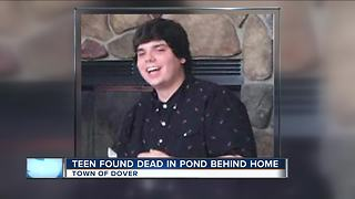 Students mourn classmate found in Racine County pond - Video