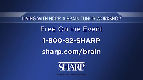 Sharp Healthcare: Living with Hope - Free Brain Tumor Online Workshop