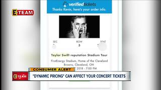 Taylor Swift tickets 'dynamically priced' and you should know what that means before you buy - Video