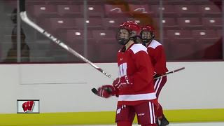 Wisconsin Badgers players chosen for Canadian Olympics hockey team - Video