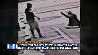 Legal expert discusses 'Stand Your Ground' law in Clearwater shooting - Video