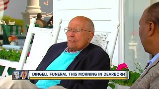 Hundreds to honor John Dingell at funeral on Tuesday - Video