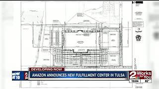 Amazon distribution center coming to Tulsa - Video