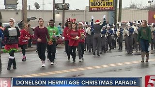 Donelson Parade Marches On Despite Rain - Video