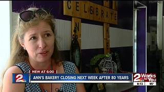 Ann's Bakery closing next week after 80 years - Video