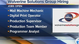 Wolverine Solutions Group hiring - Video
