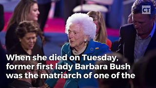 President Trump Orders High Honor for Barbara Bush After Her Death – 'As a Mark of Respect…'