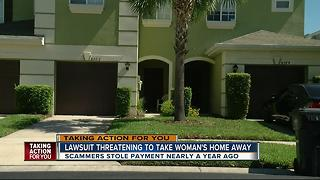 Woman faces loss of her home after email hacker steals payment nearly a year ago - Video