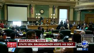 Colo. Senate votes against expelling Sen. Randy Baumgardner amid sexual harassment accusations - Video