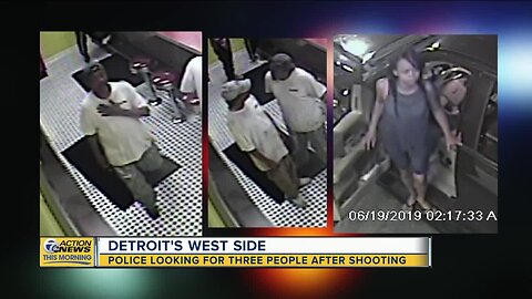 Police looking for 3 people after coney island shooting in Detroit