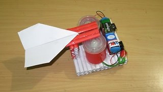 How to Make a Simple Paper Rocket Launcher - how made toy for kids - toy for kid  - Video