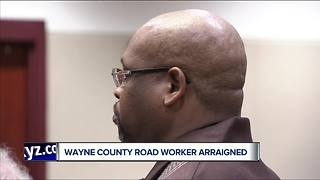 Wayne County worker arraigned in death of his colleague - Video