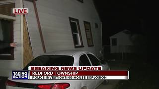 3 people taken to hospital after explosion at Redford home - Video