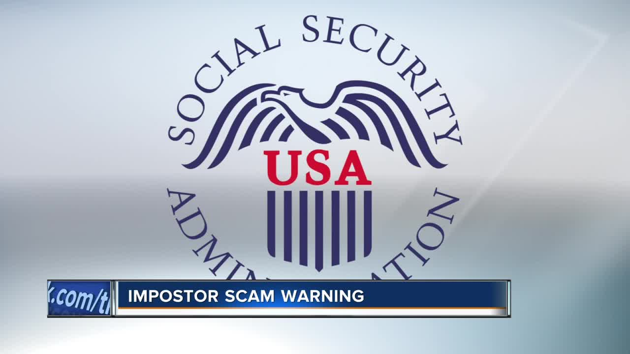 Report SSA imposter scams online
