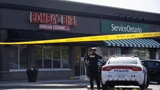 Police Looking For Suspects Tied To Ontario Restaurant Explosion - Video