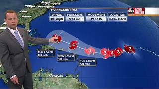 Hurricane Irma Saturday update with Jason - Video