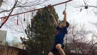 7-Year-Old Proves He Is Ready for American Ninja Warrior - Video