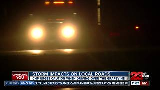 Storm impacts on Grapevine