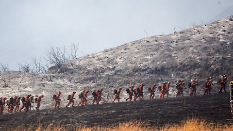 More Than 200 People Rescued From California Fire