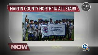 Martin County Little League 11-U All Star Team wins first Florida State championship in the 11-U Division - Video