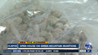 Open house on Green Mountain munitions - Video