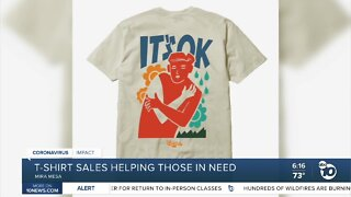 T-shirt sales helping those in need