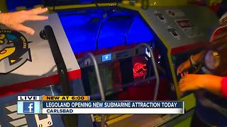 Legoland opens new submarine attraction - Video