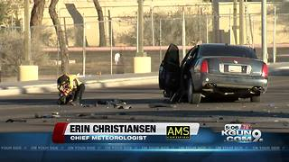 Grant, Oracle intersection reopens after wreck