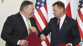 Secretary of State Pompeo Signs Defense Agreement With Poland