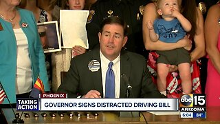Arizona joins 47 other states with cellphone driving law