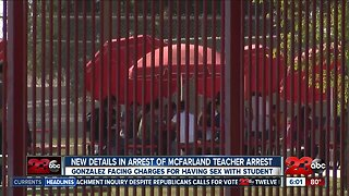 McFarland High School teacher facing charges