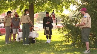 Norwood veterans honored with new flags