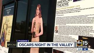 Valley theater hosting an Oscars viewing night - Video