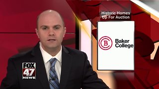 Baker College selling homes that were donated