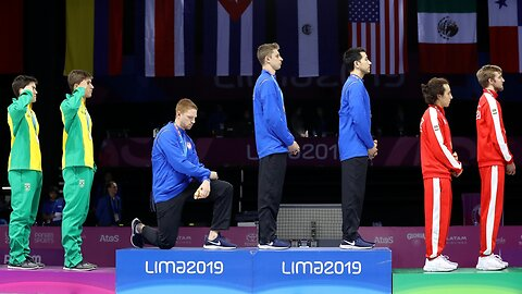U.S. Olympic Committee Punishes Medalists For Protests At Pan-Am Games