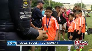 PACE soccer tournament - Video
