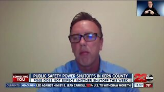 PG&E provides an update to statewide Public Safety Power Shutoffs