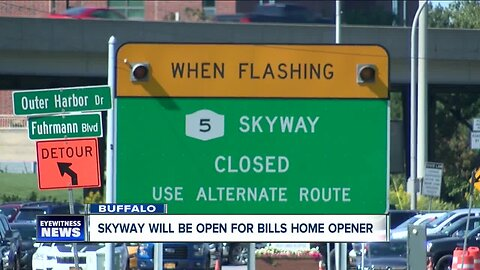 Skyway will be open to traffic Saturday night, NYSDOT reverses decision