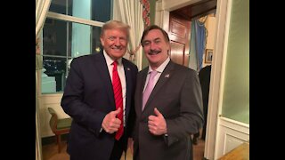 Mike Lindell speaks about his meeting with President Trump yesterday!
