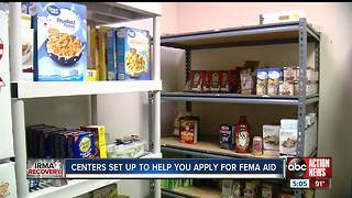 Local food pantries providing temporary relief in Tampa - Video