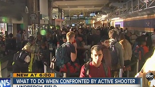 What to do when confronted by an active shooter - Video