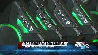 Tucson police receives 300 body cameras - Video