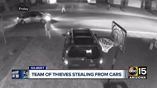 VIDEO: Bandits targeting cars in Gilbert