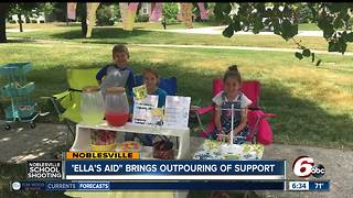 'Ella's Aid' lemonade stands all over Central Indiana - Video