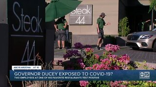 Governor Ducey exposed to COVID-19?