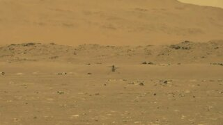 Mars Helicopter Makes Historic Flight
