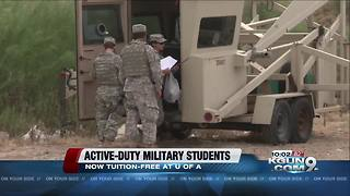 UA reduces tuition for active-duty undergrads